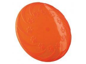 Létající talíř termoplastická guma 22 cm