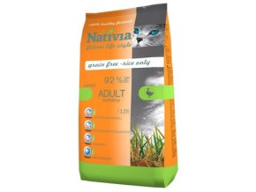 Nativia Adult Duck and Rice hairball 10 kg