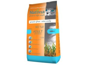 Nativia Adult Salmon and Rice active 10 kg