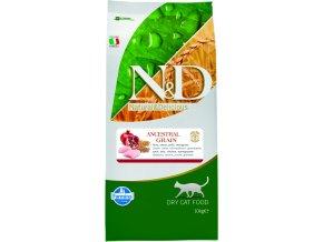 N&D Low Grain Cat Adult Chicken Pomegranate 10 kg