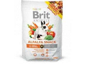 Brit Animals Alfalfa Snack pro hlodavce 100 g