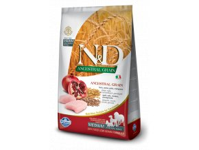 110 16 ND Low Ancestral Grain canine Adult Medium CHICKEN@web