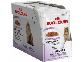 Royal Canin Sterilised In Jelly MULTIPACK - kapsička 12x85 g