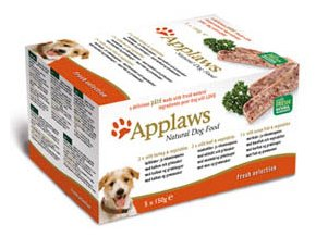 Applaws Dog Paté Fresh Selection multipack - 5x150 g