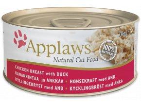 Applaws konzerva kuře a kachna