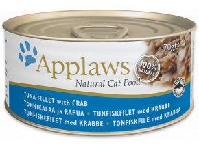 Applaws konzerva tuňák a krab