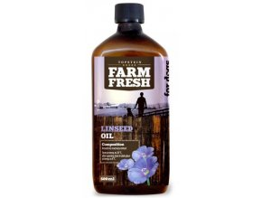 Farm Fresh lněný olej 200 ml