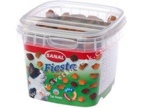 Sanal Fiesta Poultry 75 g - pamlsky pro kočky