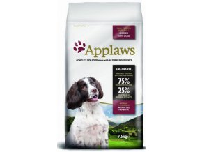 Applaws Adult Small Medium Breed Chicken Lamb 7,5 kg