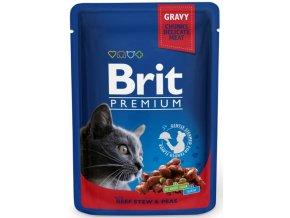 Brit kapsička beef peas