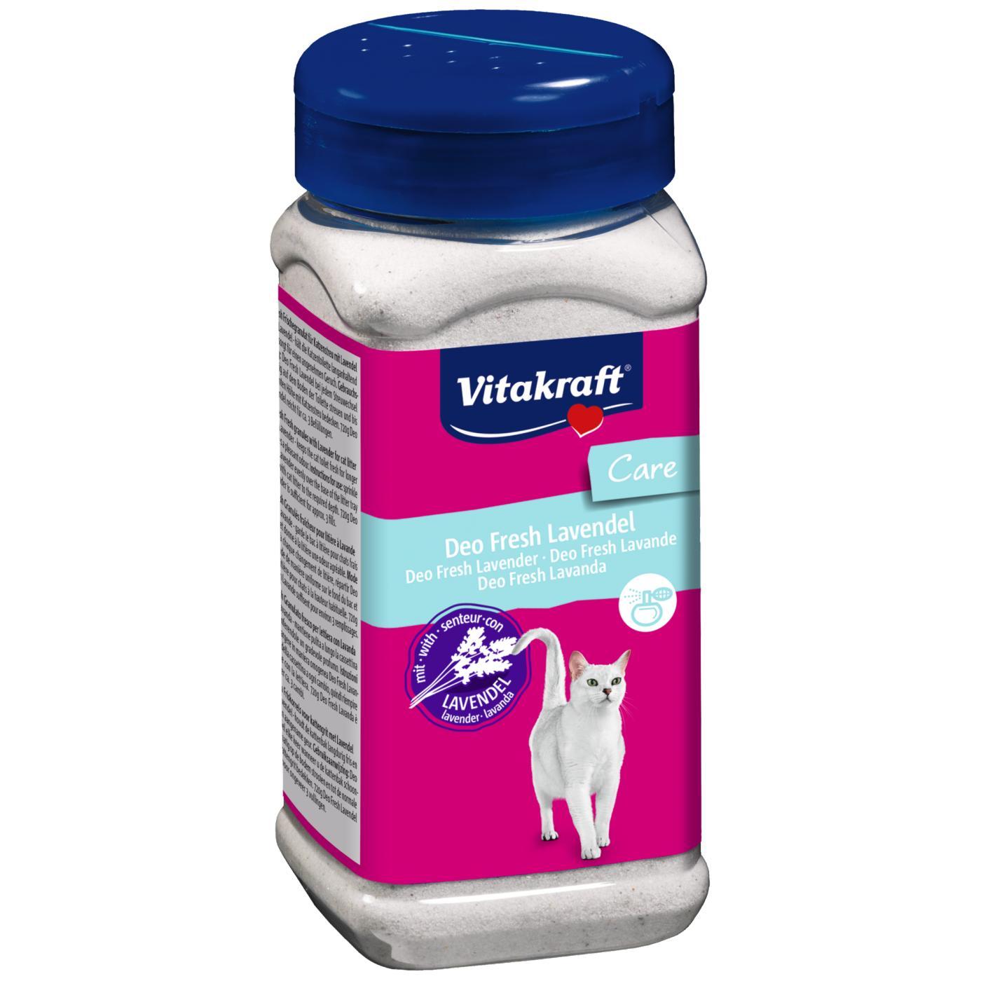Vitakraft Deo Fresh levandule 720 g