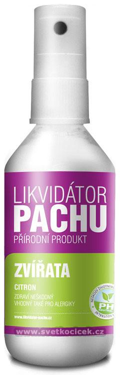 Likvidátor pachu zvířat 215 ml sprej Vůně: CITRON
