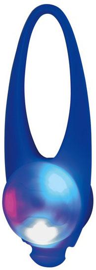 Blikací svítítko na obojek silikonové Barva: modrá