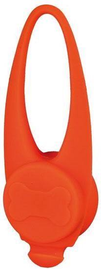 Blikací svítítko na obojek silikonové Barva: oranžová