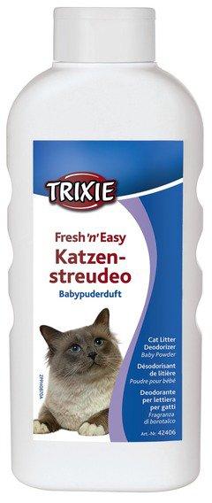 Fresh'n'Easy deodorant do WC pro kočky Baby Powder 750 g