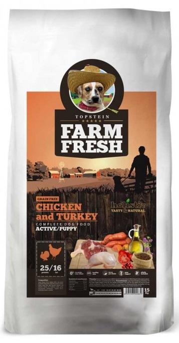 Farm Fresh Chicken Turkey Active Puppy 2 kg