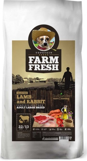 Farm Fresh Lamb Rabbit Adult Large Breed 15 kg