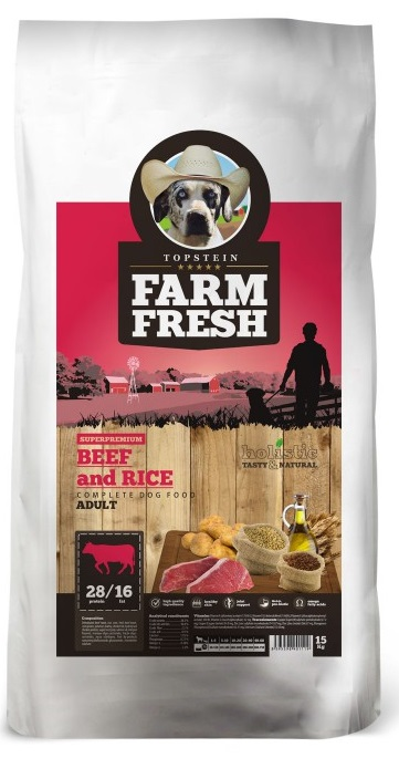 Farm Fresh Adult Beef and Rice 2 kg