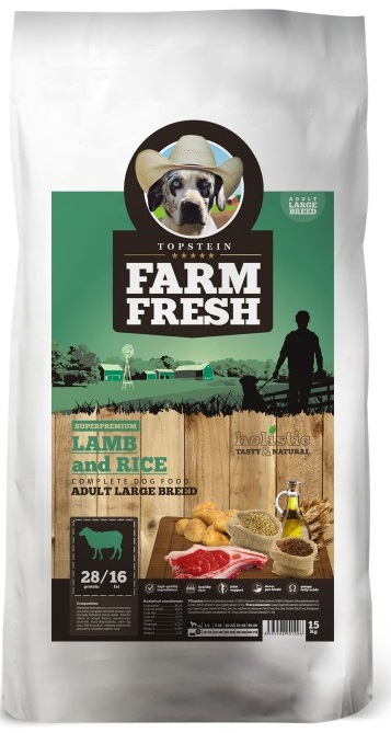 Farm Fresh Adult Large Breed Lamb Rice 15 kg