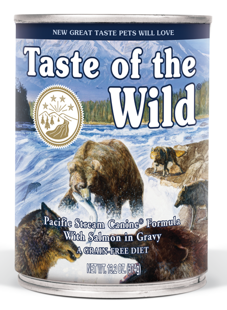 Taste of the Wild Pacific Stream - konzerva 375 g