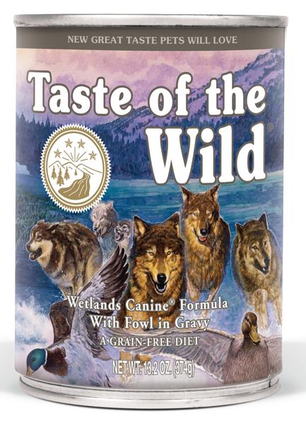Taste of the Wild Wetlands - konzerva 375 g