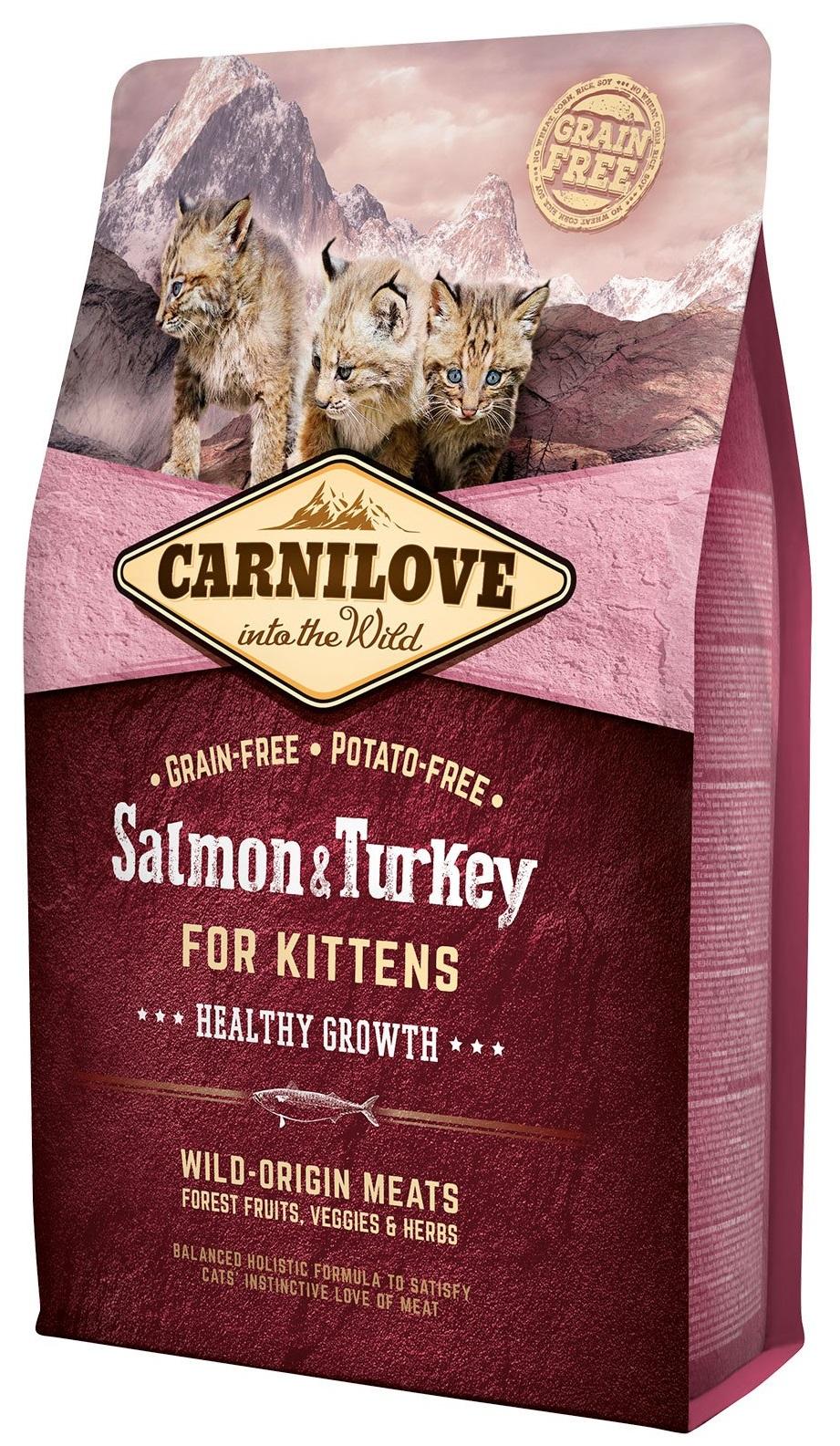 Carnilove Salmon Turkey for Kittens 6 kg