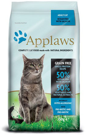 Applaws Cat Adult Ocean Fish and Salmon 350 g