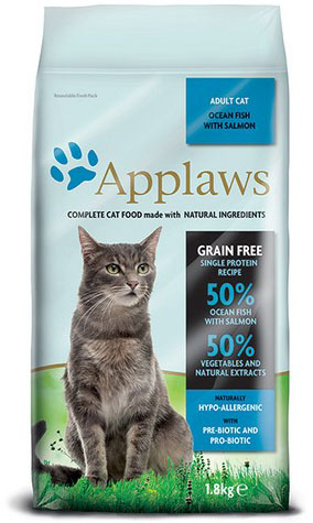 Applaws Cat Adult Ocean Fish and Salmon 1,8 kg