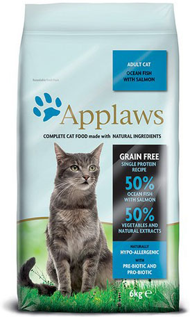 Applaws Cat Adult Ocean Fish and Salmon 6 kg