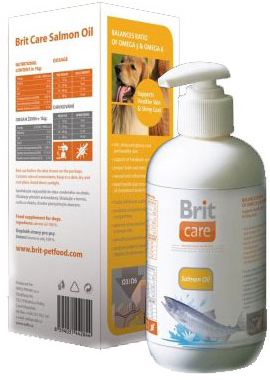 Brit Care lososový olej 250 ml