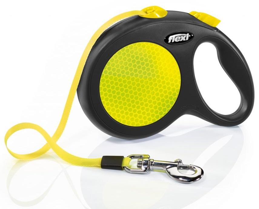 Vodítko Flexi Neon M-L 5 m, 50 kg