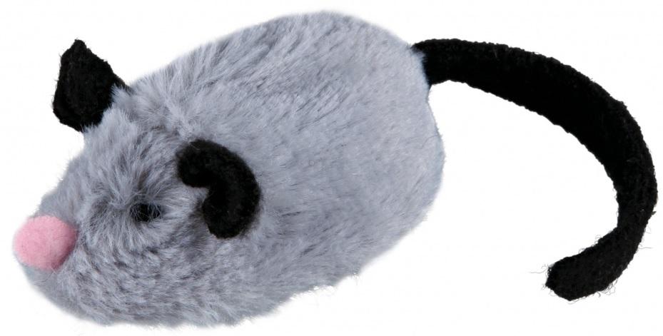 Interaktivní myš 8 cm - hračka pro kočky