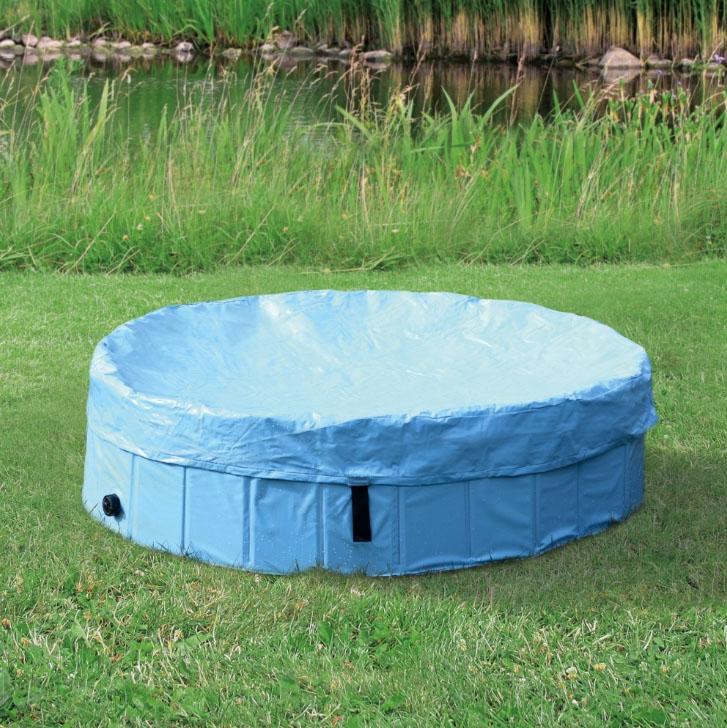 Plachta na bazén pro psy Trixie světle modrá Velikost: ø 80 cm