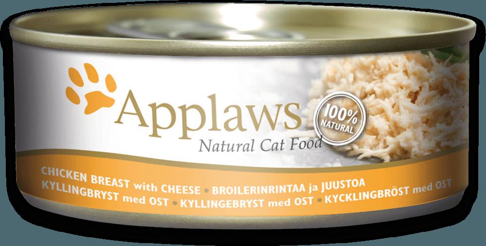 Applaws kuřecí prsa a sýr - konzerva 156 g