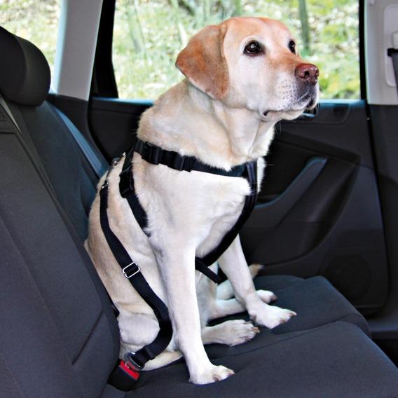 Bezpečnostní postroj do auta pro psa L
