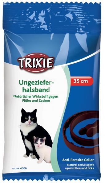 Antiparazitní obojek bylinný pro kočky 35 cm