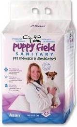 Podložky Puppy Fields Sanitary 90x60 cm - 25 ks v balení