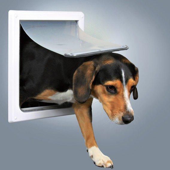Průchozí dvířka pro psy S-M dvoucestná
