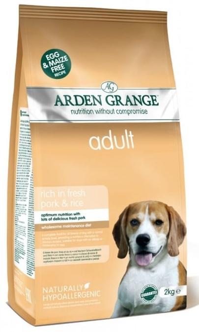 Arden Grange Adult Fresh Pork and Rice 12 kg