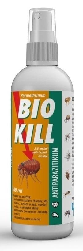 Bio Kill 2,5 mg/ml kožní sprej - 100 ml