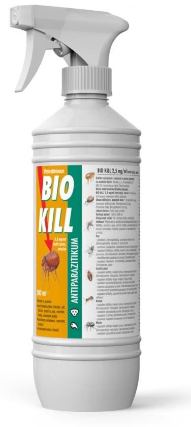 Bio Kill 2,5 mg/ml kožní sprej - 500 ml