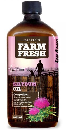 Farm Fresh ostropestřecový olej 200 ml