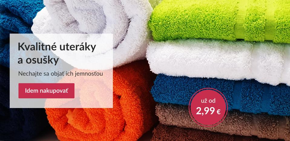 froté uteráky a osušky
