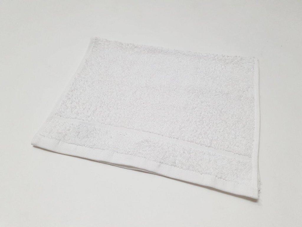 ručník30x50bílý