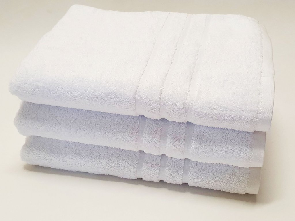 Froté uterák HOTEL 500g - Biely 50x100