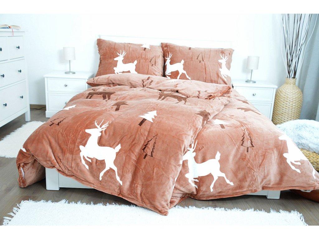 Obliečky z mikroplyšu - Deer