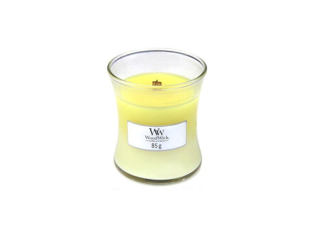 Sviečka WoodWick 85g - Čistá bielizeň