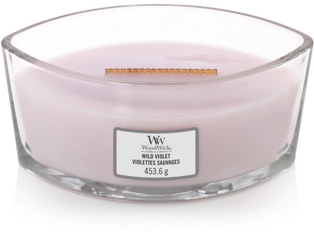 Sviečka WoodWick  454g - Divoká fialka