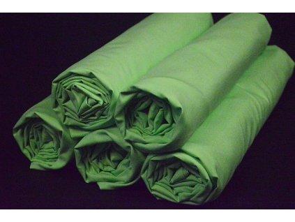 klasické prostěradlo zelené