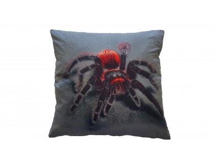 3D poťah na vankúš - Pavúk 45x45